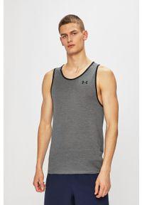 Under Armour - T-shirt. Kolor: szary