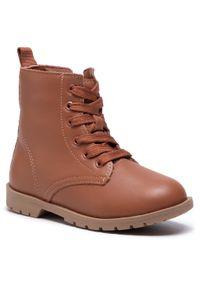 Brązowe buty zimowe Bibi