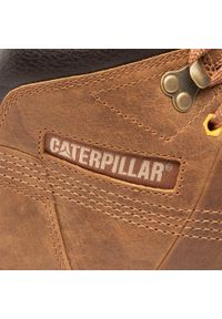 CATerpillar - Trzewiki CATERPILLAR - Time Rift P724839 Rope. Kolor: brązowy. Materiał: skóra, nubuk. Szerokość cholewki: normalna. Sezon: zima. Styl: elegancki