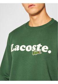 Lacoste Bluza SH2173 Zielony Classic Fit. Kolor: zielony