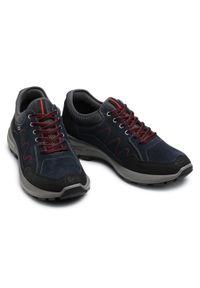 Go Soft - Sneakersy GO SOFT - 702428 Navy. Kolor: niebieski. Materiał: materiał, zamsz, skóra. Szerokość cholewki: normalna. Styl: klasyczny