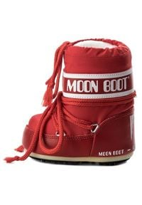 Moon Boot Śniegowce Mini Nylon 14004300003 Czerwony. Kolor: czerwony. Materiał: nylon