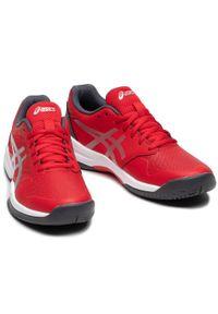 Czerwone buty do tenisa Asics