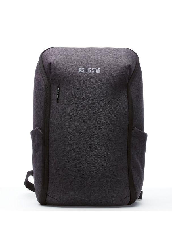 Big-Star - Plecak męski na laptopa Big Star GG574042. Materiał: materiał
