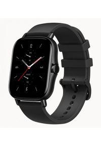 Huami - Smartwatch Amazfit GTS 2 Czarny (Midnight Black). Rodzaj zegarka: smartwatch. Kolor: czarny. Styl: sportowy, klasyczny, casual