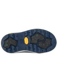 Niebieskie buty zimowe Reima z cholewką