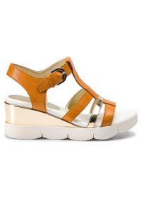 Brązowe sandały The FLEXX