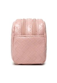 Guess - Kosmetyczka GUESS - Emelyn Accessories PWEMEL P1373 ROS. Kolor: różowy. Materiał: skóra