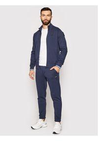 Niebieskie spodnie dresowe Blauer