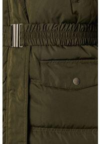 Zielony płaszcz Pepe Jeans na co dzień, casualowy, z kapturem