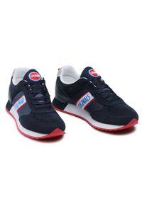 Colmar - Sneakersy COLMAR - Travis Runner 031 Navy. Okazja: na co dzień. Kolor: niebieski. Materiał: zamsz, materiał, skóra ekologiczna. Szerokość cholewki: normalna. Styl: casual #4
