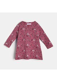 Różowa sukienka Sinsay