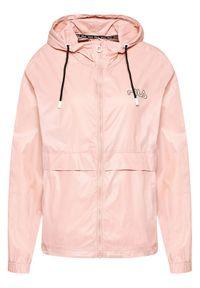 Różowa kurtka przejściowa Fila