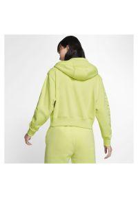 Bluza damska Nike Air CJ3041. Materiał: tkanina. Długość rękawa: raglanowy rękaw. Długość: krótkie #5