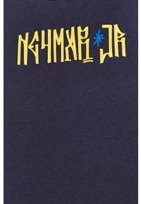Niebieska bluza nierozpinana Puma casualowa, na co dzień
