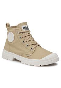 Beżowe buty trekkingowe Palladium