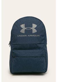 Niebieski plecak Under Armour z nadrukiem