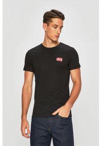 Wielokolorowy t-shirt Levi's® casualowy, na co dzień, z okrągłym kołnierzem