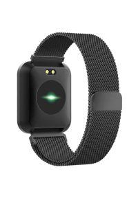 Czarny zegarek TFO elegancki, smartwatch