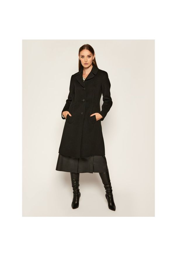 Czarny płaszcz Weekend Max Mara