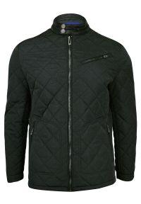 Czarna kurtka Gustaff ze stójką, na zimę