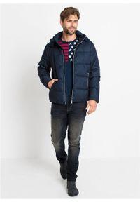 Niebieska kurtka bonprix melanż, na zimę