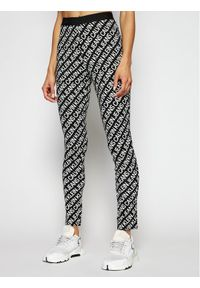 Calvin Klein Jeans Legginsy J20J216097 Czarny Slim Fit. Kolor: czarny