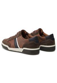 Brązowe sneakersy Imac z cholewką