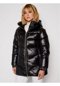 Czarna kurtka przejściowa Woolrich