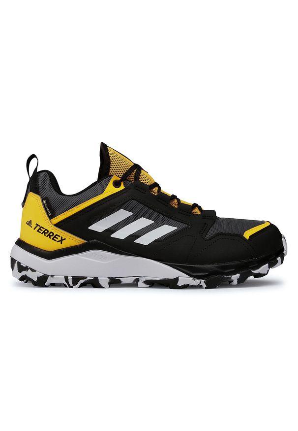 Szare buty do biegania Adidas z cholewką, Adidas Terrex, Gore-Tex