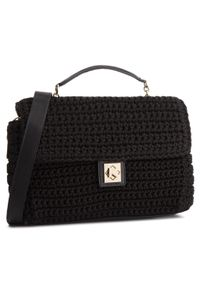 Czarna torebka klasyczna Kazar