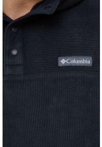 columbia - Columbia - Bluza. Okazja: na co dzień. Typ kołnierza: kaptur. Kolor: czarny. Materiał: dzianina. Wzór: gładki. Styl: casual