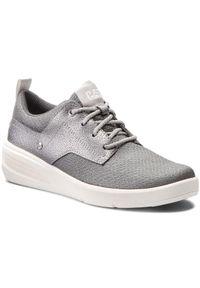 CATerpillar - Sneakersy CATERPILLAR - Glint Canvas P310309 Silver. Okazja: na co dzień. Kolor: srebrny, wielokolorowy, szary. Materiał: skóra ekologiczna, materiał. Szerokość cholewki: normalna. Styl: casual
