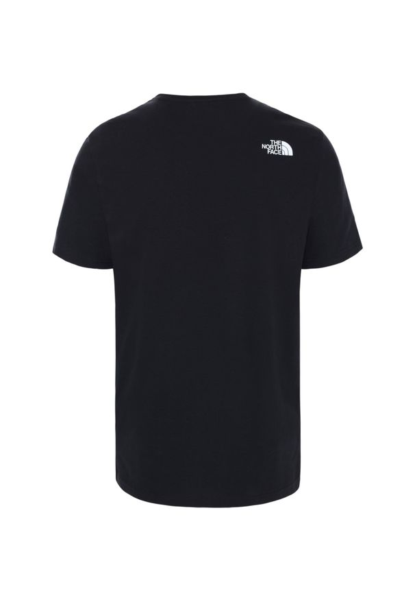 Czarna koszulka sportowa The North Face