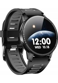 Szary zegarek ZAXER smartwatch