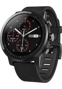 AMAZFIT - Smartwatch Amazfit Stratos Czarny (Amazfit Pace 2 Stratos). Rodzaj zegarka: smartwatch. Kolor: czarny