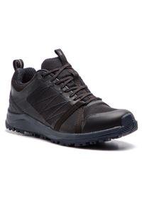 Czarne buty trekkingowe The North Face Gore-Tex, na co dzień, z cholewką, trekkingowe