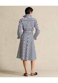 Biała sukienka Ralph Lauren polo, klasyczna