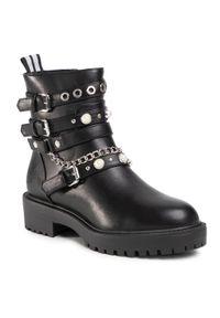 Czarne buty trekkingowe Bullboxer