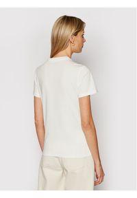 Lee T-Shirt Circle L40TEHMK Beżowy Regular FIt. Kolor: beżowy