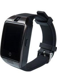 Czarny zegarek NoName smartwatch