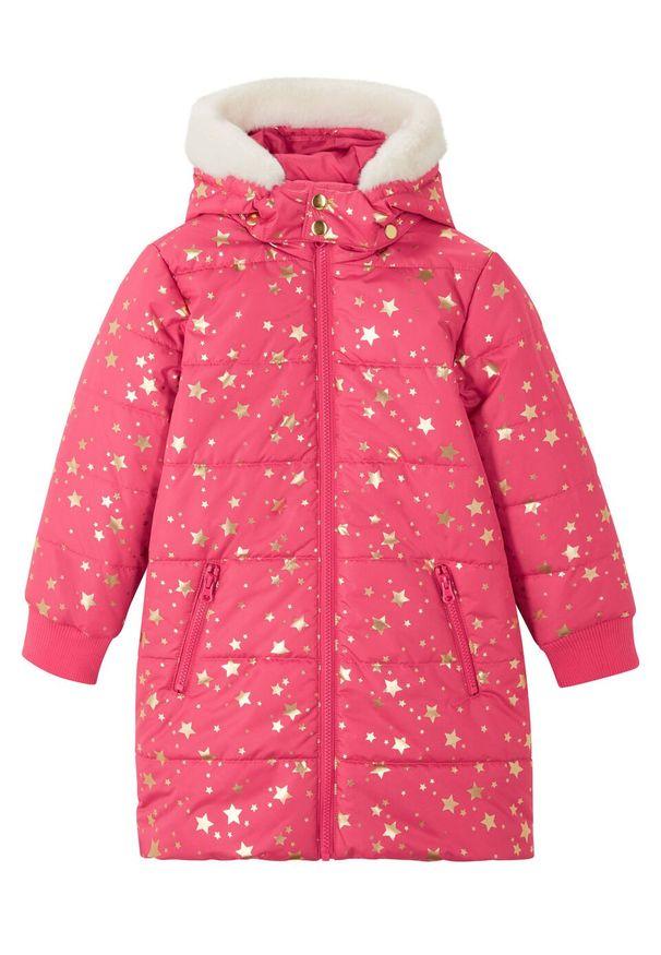 Czerwony płaszcz bonprix na zimę