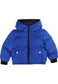 Niebieska kurtka zimowa Little Marc Jacobs