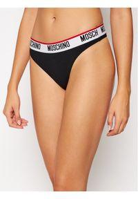 Czarne stringi Moschino Underwear & Swim