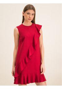 Czerwona sukienka koktajlowa Red Valentino wizytowa