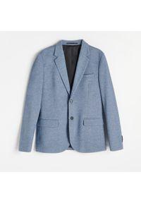 Niebieska kurtka Reserved melanż