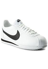 Białe buty sportowe Nike z cholewką, Nike Cortez