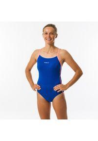 NABAIJI - Strój Pływacki Jednoczęściowy Jade All Diag Damski. Kolor: niebieski, czerwony, różowy, wielokolorowy. Materiał: poliamid, materiał, poliester. Długość: długie