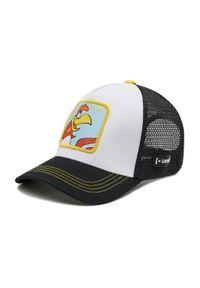 CapsLab - Czapka z daszkiem CAPSLAB - Capslab Looney Tunes Charlie Trucker CL/LOO3/1/CHA Biały Czarny. Kolor: czarny, biały, wielokolorowy. Materiał: materiał, bawełna, poliester