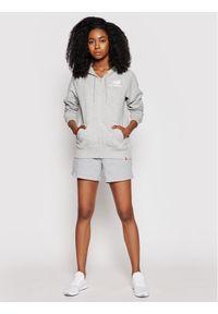 New Balance Bluza Essentials WJ03535 Szary Relaxed Fit. Kolor: szary